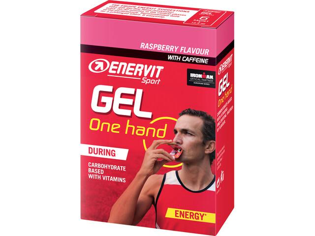 Enervit One Hand Gel Boîte 6x12,5ml, raspberry